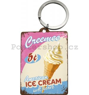 Retro klíčenka – Ice Cream