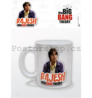 Hrnek – The Big Bang Theory (Rajesh)