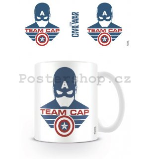 Hrnek - Captain America Civil War (Team Captain)