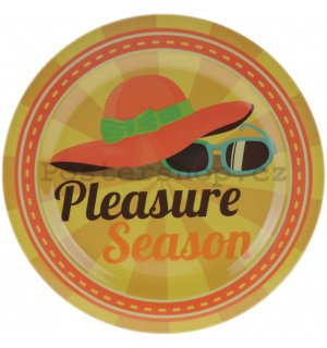 Retro talíř malý - Pleasure Season