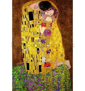 Plakát - Klimt's The Kiss