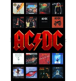 Plakát - AC-DC Album Covers