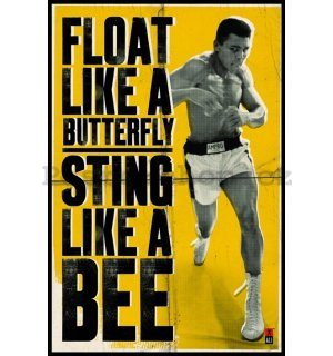 Plakát - Muhammad Ali (Float like a Butterfly)