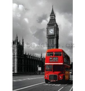 Plakát - London Red Bus (1)