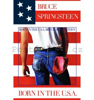 Plakát - Bruce Springsteen Born in the USA