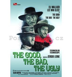 Plakát - The Good The Bad The Ugly