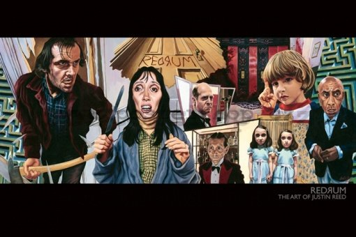 Plakát - Redrum (The Art Of Justin Reed)