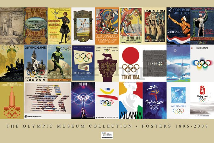 Plakát - The Olympic Museum Collection (1896 – 2008)