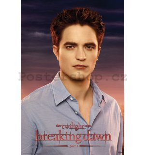 Plakát - Twilight Breaking Dawn (Edward)
