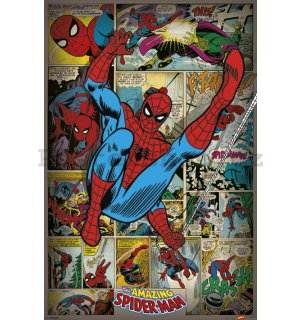 Plakát - Marvel Comics (Spider-Man Retro)