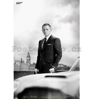Plakát - James Bond & DB5 Skyfall