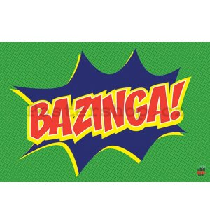 Plakát - Big Bang Theory (Bazinga Icon)