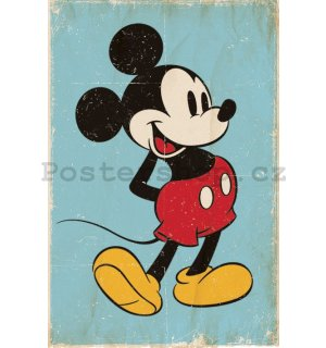 Plakát - Mickey Mouse (Retro)