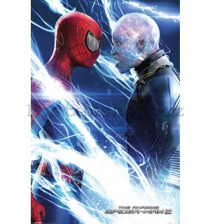 Plakát - Amazing Spiderman 2 (Spiderman & Electro)