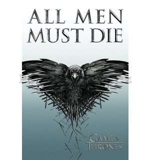 Plakát - Game of Thrones (All Men Must Die)