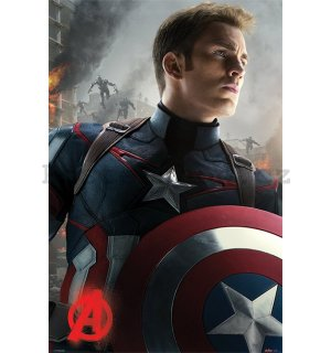 Plakát - Avengers: Age of Ultron (Captain America)