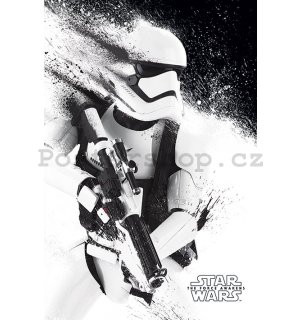 Plakát - Star Wars VII (Stormtrooper paint)