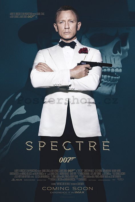 Plakát - James Bond Spectre (1)