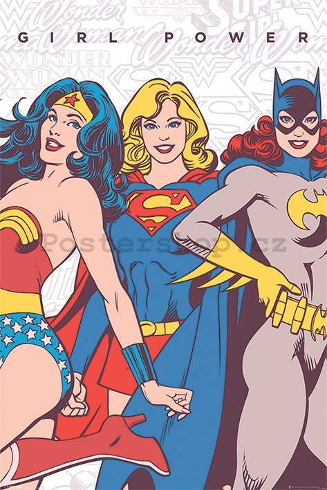 Plakát - DC Comics (Girl Power)