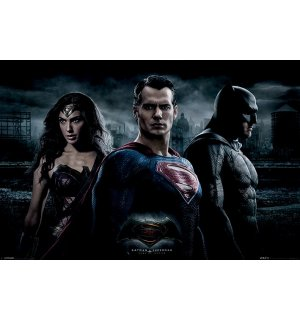 Plakát - Batman vs. Superman (Trio)