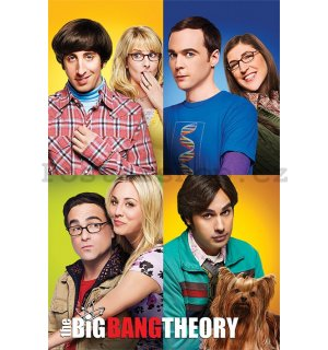Plakát - The Big Bang Theory (Blocks)