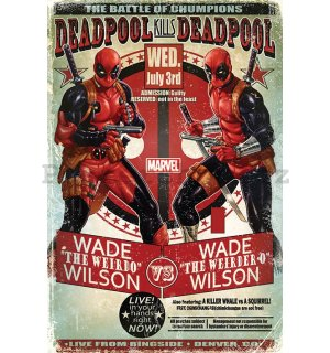 Plakát - Deadpool (Wade vs. Wade)