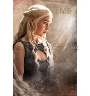Plakát - Game of Thrones (Daenerys Targaryen)
