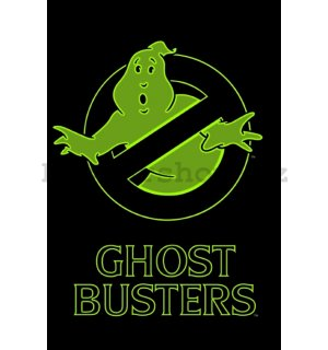 Plakát - Ghostbusters Logo (GITD NIGHT)