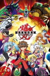Plakát - Bakugan battle brawlers