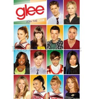 Plakát - Glee characters