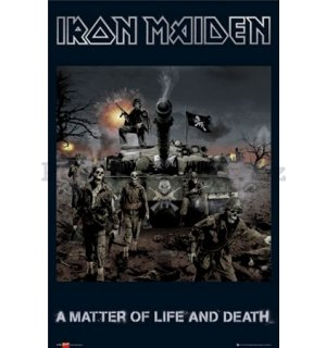 Plakát - Iron Maiden matter of life and death