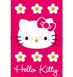 Plakát - Hello Kitty magenta