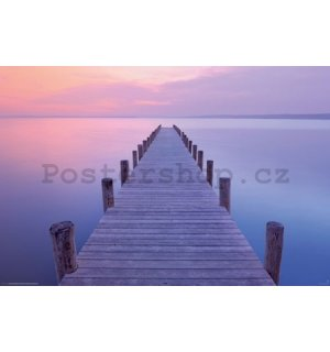 Plakát - Jetty sunrise