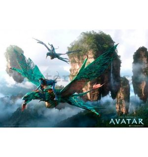 Plakát - Avatar flying
