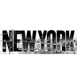 Plakát - New York typeface (2)