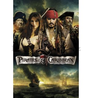 Plakát - Pirates of the Caribbean 4