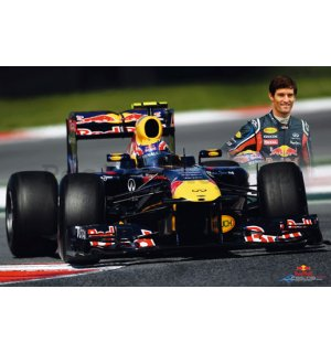 Plakát - Red Bull Racing (Webber)