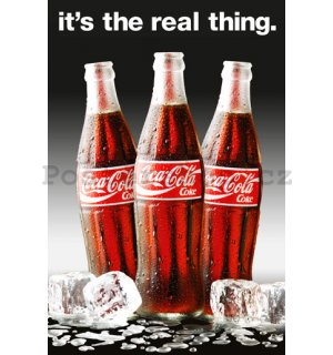Plakát - Coca-Cola Real thing