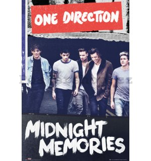 Plakát - One Direction (Midnight Memories)