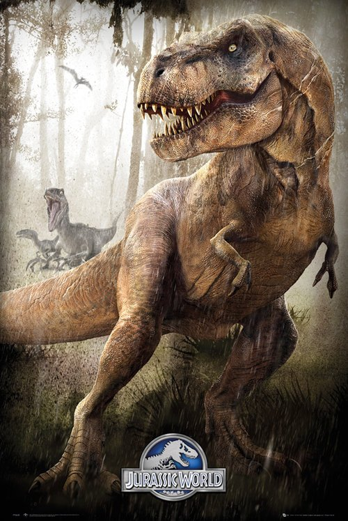 Plakát - Jurassic World