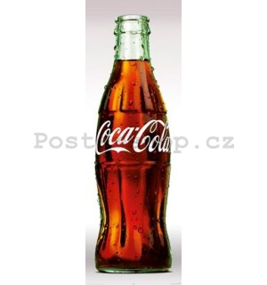 Plakát - Coca-Cola contour bottle
