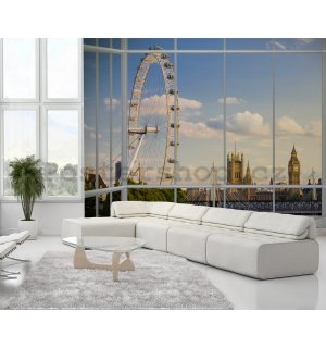 Fototapeta - London Eye