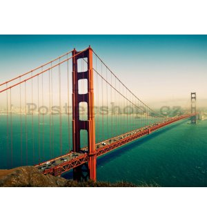 Fototapeta: Golden Gate Bridge (2) - 232x315 cm