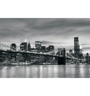Fototapeta: Brooklyn Bridge - 254x368 cm