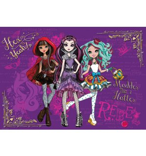 Fototapeta: Mattel Ever After High (4) - 254x368 cm