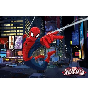 Fototapeta: Ultimate Spiderman - 254x368 cm