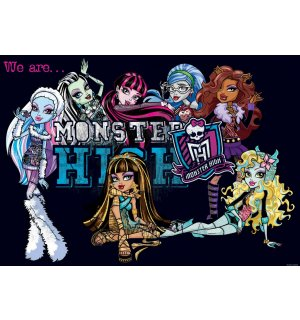 Fototapeta: Monster High (5) - 254x368 cm