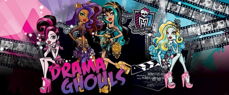 Fototapeta - Monster High (Drama Ghouls)