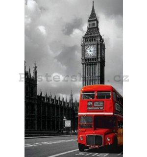 Fotoobraz - London Red Bus (1)