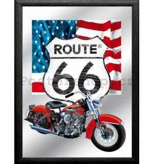 Zrcadlo - Route 66 (American Harley)